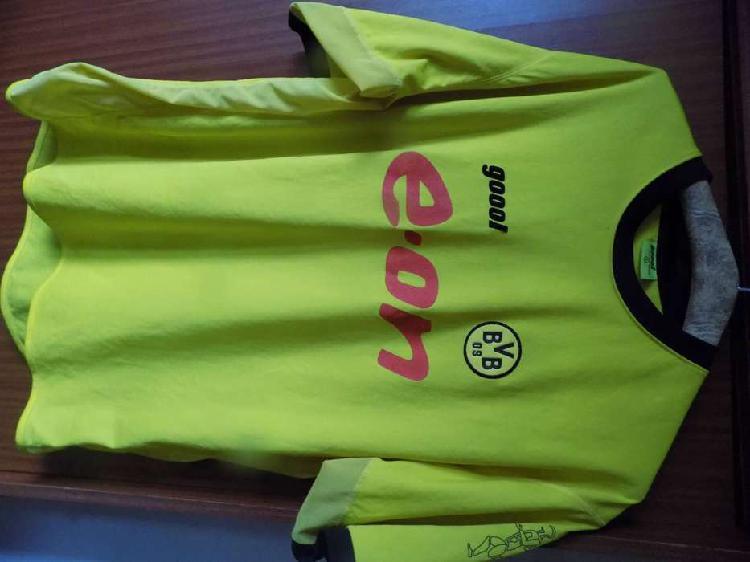 Camiseta del borussia dortmund `goool` 2003 - 2004 talle xl