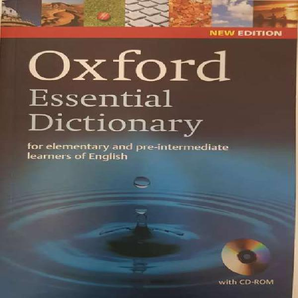 Diccionario oxford esential dictionary con cd