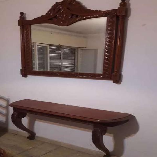 Dresoir con espejo luis xvi
