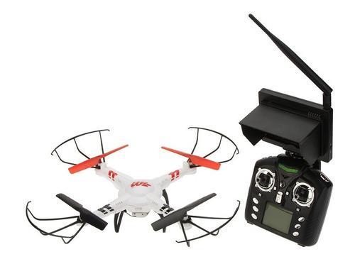 Drone camara pantalla wl toys v686g video directo hd