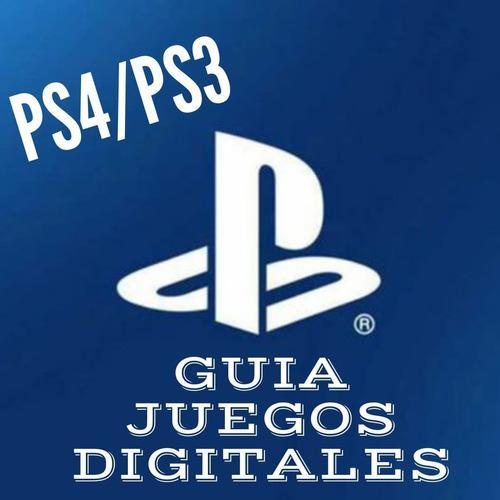 Guía para venta de juegos digitales ps4/ps3