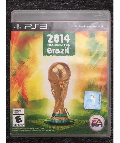 Juego ps3 fifa mundial brasil 2014 (brasil world cup 2014)