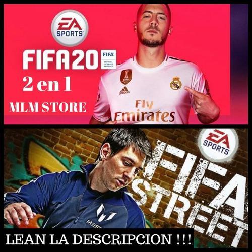 Juegos fifa 20 ps3 + fifa street ps3!