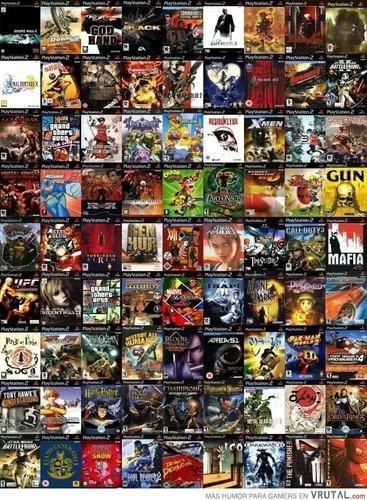 Juegos playstation 2 - título a elección - lote x5 juegos