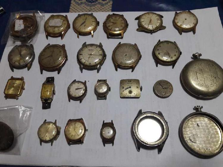 Lote relojes antiguos 1