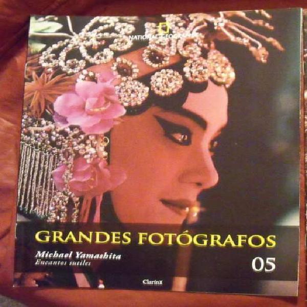 Lotes x 3 fascículos grandes fotografos national geographic