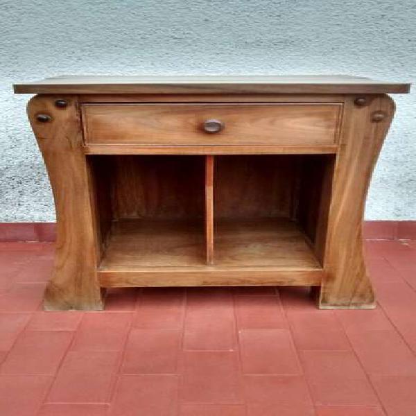 Mesa luz madera cedro maciza