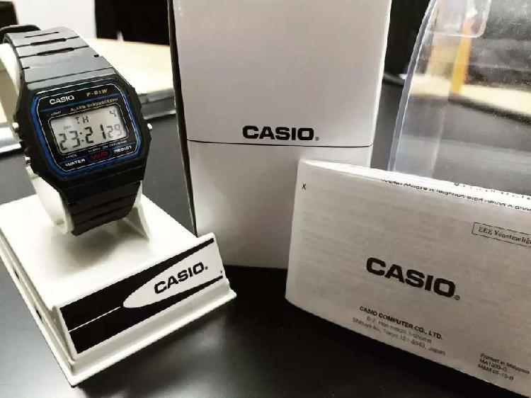 Reloj unisex casio original nuevo
