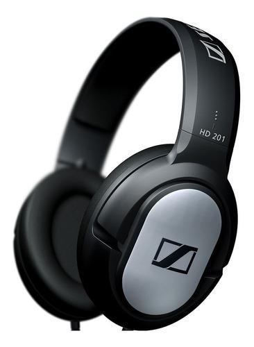 Sennheiser hd 201 auriculares vincha cerrados dj & estudio
