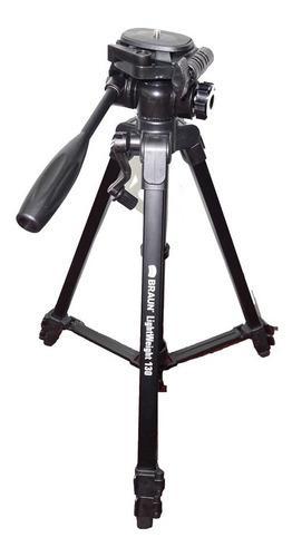 Tripode ligero braun 135cm fotografia video soporte celular