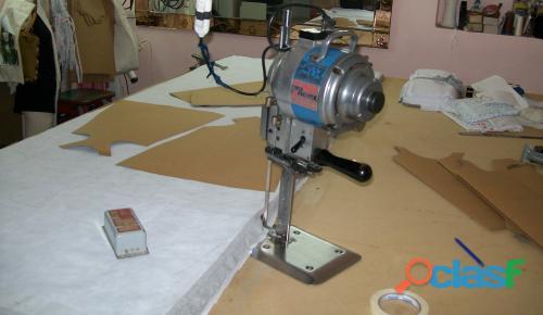 taller corte de ropa/ cortador textil 2