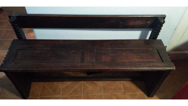 Asiento de madera diseño antiguo !!!!!