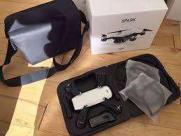 Dron prof. dji spark fly more combo 3 baterias y accesorios