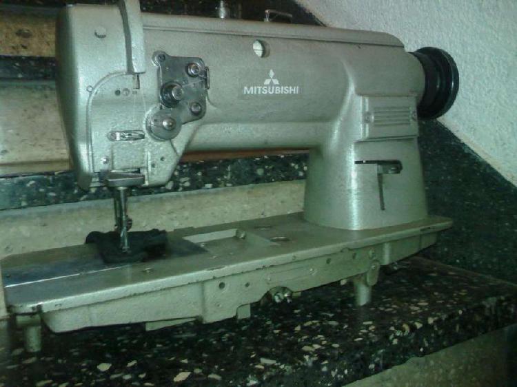 Maquina de coser mitsubishi jpon triple arestre en costura