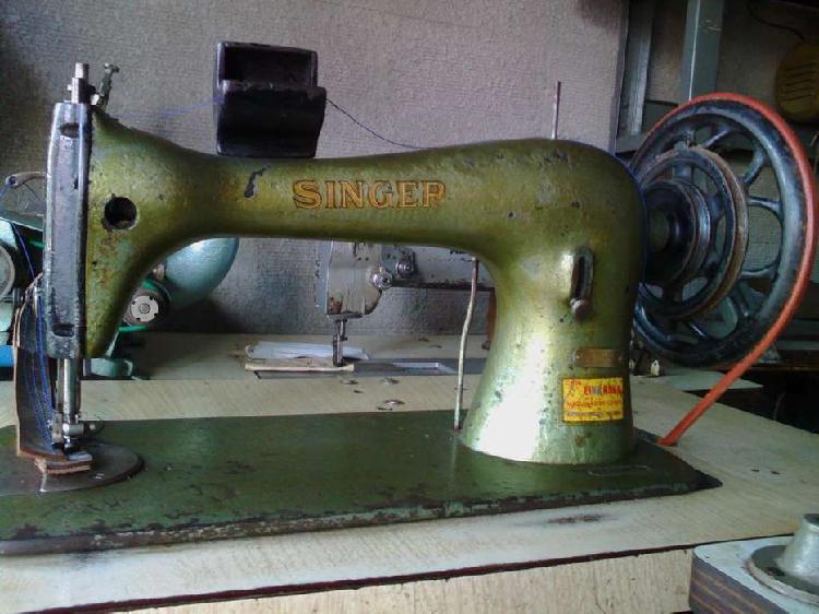 Maquina de coser singer coser cuero vaquet doble de doble