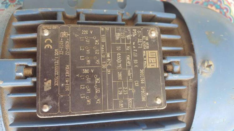 Motor trifasico marca weg