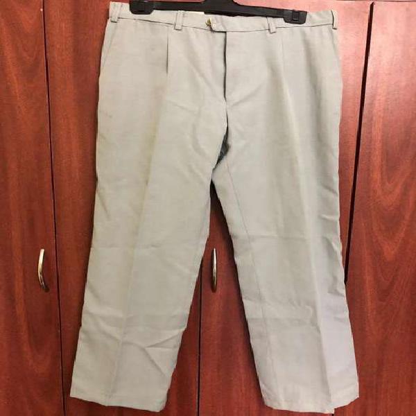Pantalon de traje gris yves saint lauren