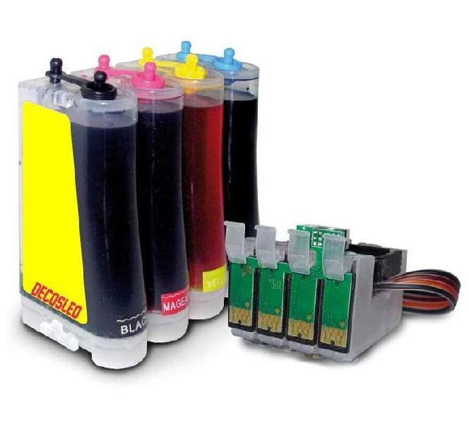 Sistema continuo para epson xp con tinta
