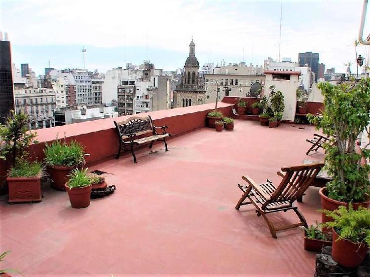 Semipiso 6 ambientes con balcón terraza y terraza