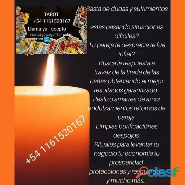 Claravidencia tarot a todo pais +54 1161520167