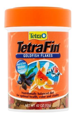Alimento tetra fin 200g peces agua fria goldfish carassius