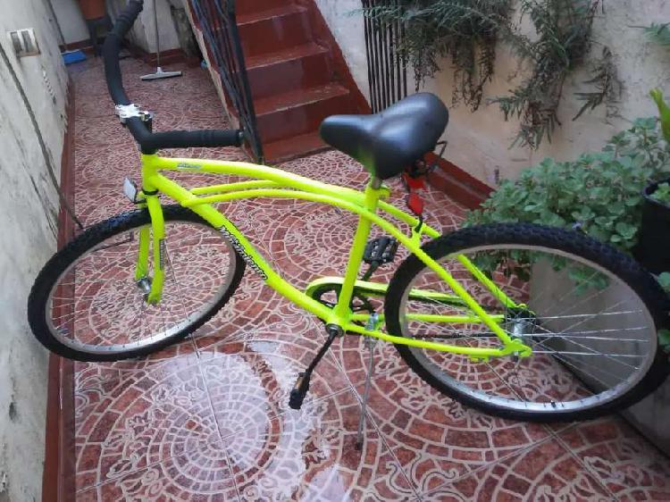 Bicicleta playera nueva