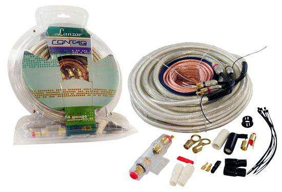 Cables audio car kit de instalacion potencia