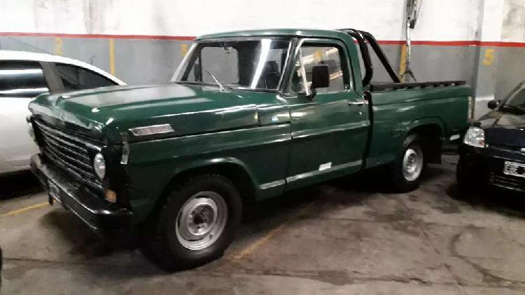 Ford f100 1970 nafta gnc titular