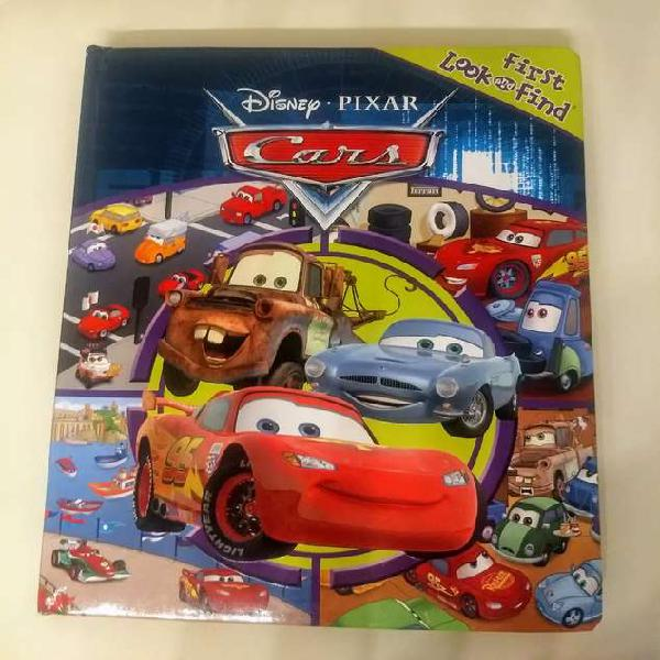 "Libro infantil ""first look and find - cars disney pixar""."