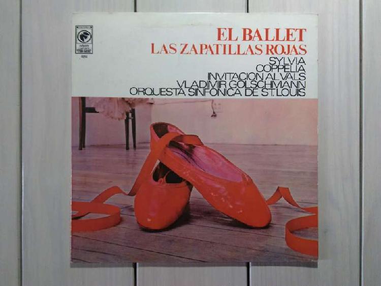 Lp vinilo el ballet las zapatillas rojas (ver descuentos)