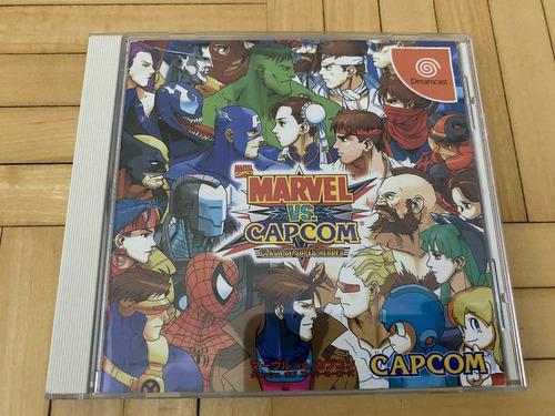 Marvel vs capcom sega dreamcast japones