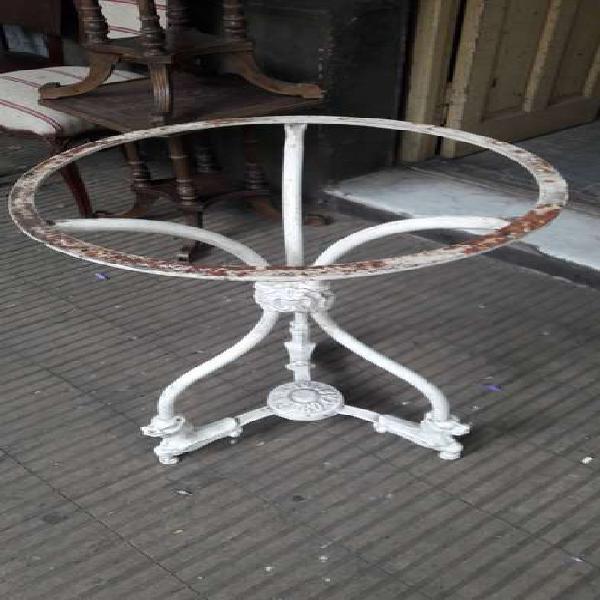 Mesa bar de hierro tamburini #2679