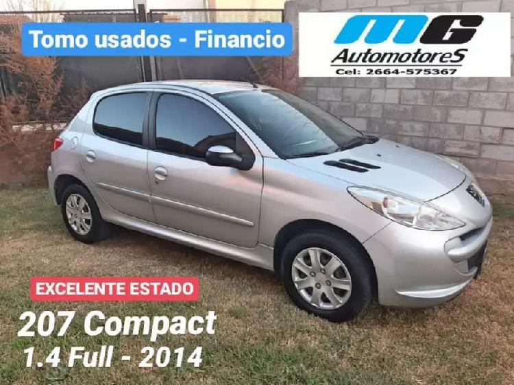 Peugeot 207 compact 2014