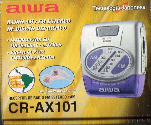 Radio aiwa cr-ax101 am-fm stereo