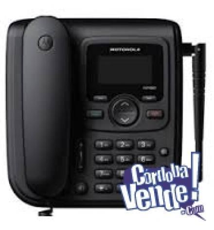 Teléfono fijo celular motorola para zonas de baja señal!!!