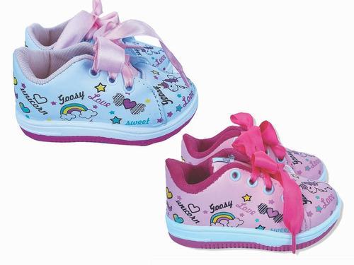 Zapatilla de nena unicornio blanco-rosa 18 al 26