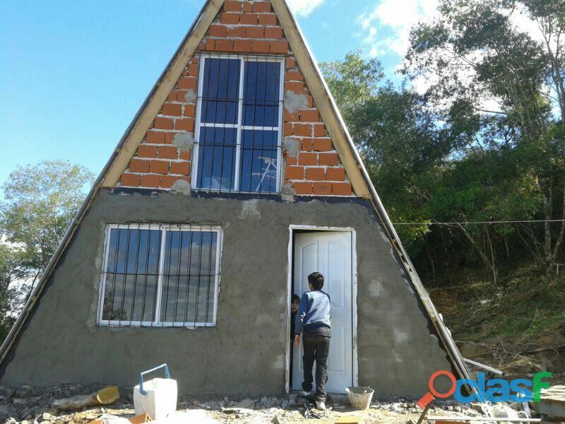 Casa 100m2 sobre ruta 4 camino a san javier