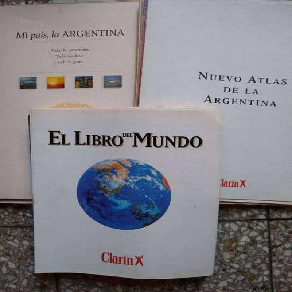 Clarin lote 3 coleccion fasciculos el libro del m