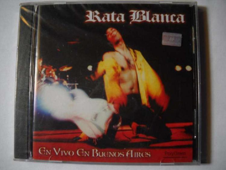 Rata blanca en vivo en buenos aires cd sellado