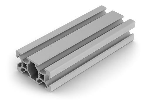 Perfil aluminio 2040 1 mt tipo bosch impresora 3d cnc v slot