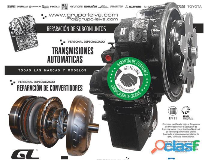 Reparacion de transmisiones automaticas   convertidores de torque y mandos finales