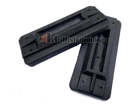 Base taco de goma para pata repuesto porta equipaje x 2 unid