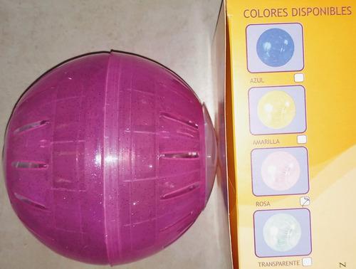 Bola de hamster varios colores.