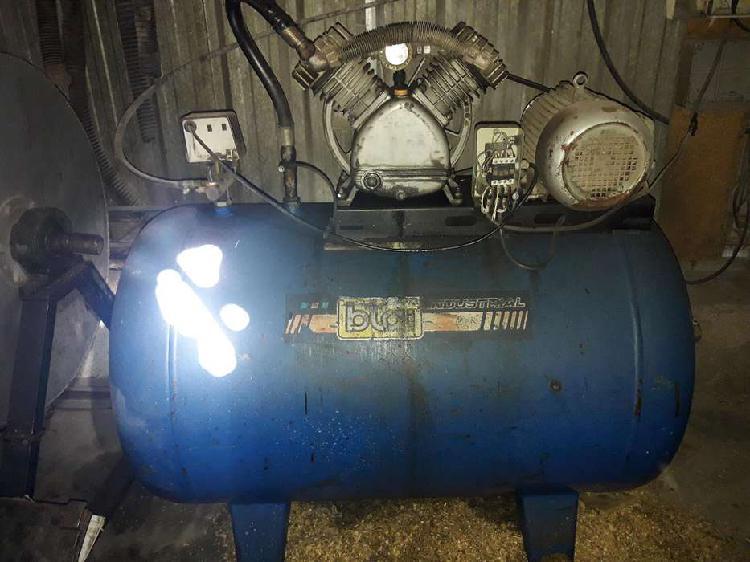 Compresor aire bta trifasico 5.5hp 300lts