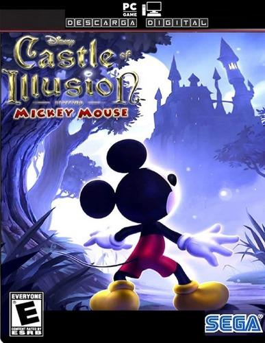 Castle of illusion mickey mouse hd juego pc digital español