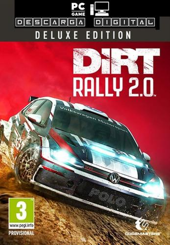 Dirt rally 2.0 deluxe edition juego pc digital español