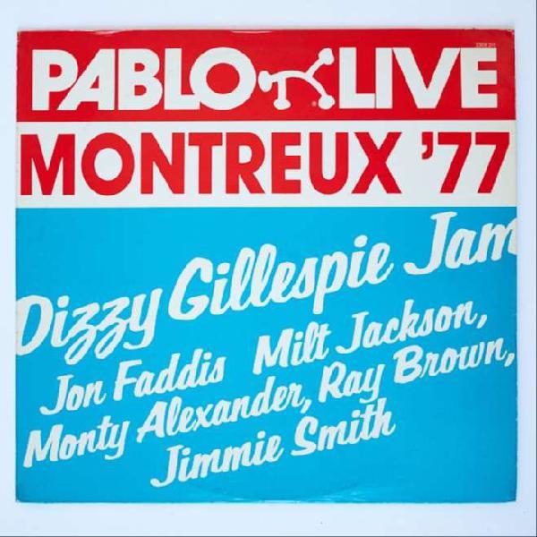 Dizzy gillespie jam, montreux 77 jazz vinilo lp