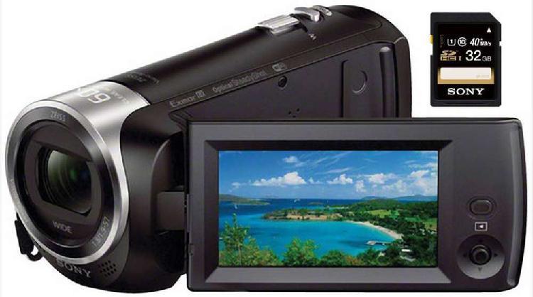 Filmadora sony handycam cx440 wifi nfc sensor exmorr 1080p
