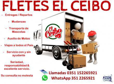 Flete / fletes / mudanzas / auxilio de motos / traslados