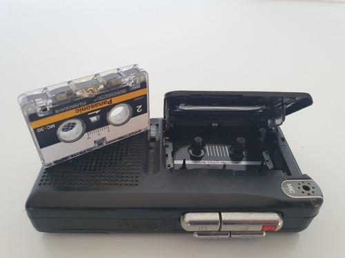 Grabador periodista prof. mini cassette, panasonic rn-402